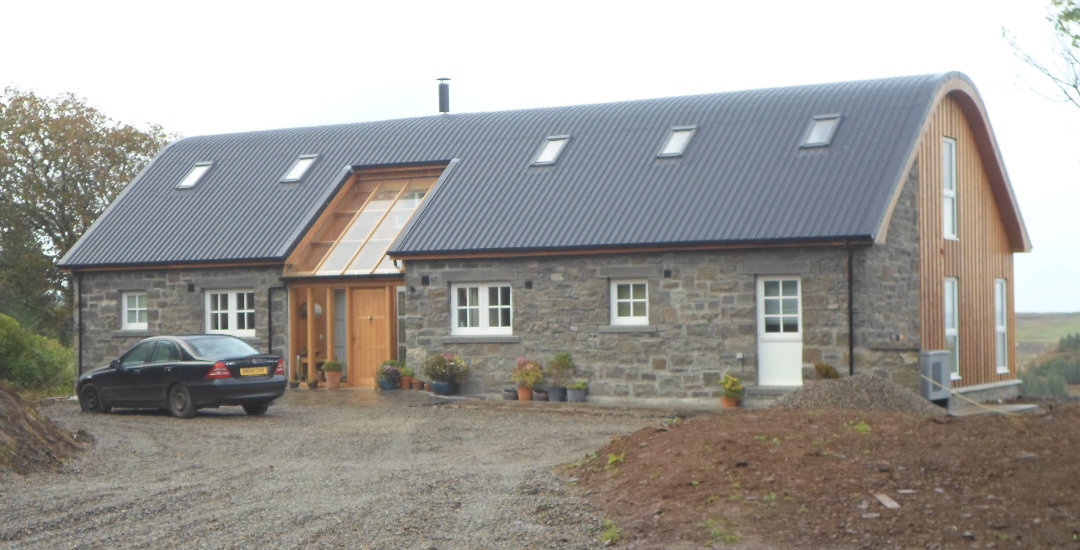 Creating a happy island retirement at Glengorm